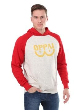 Hoodie Oppai One Punch 10 anime gifts