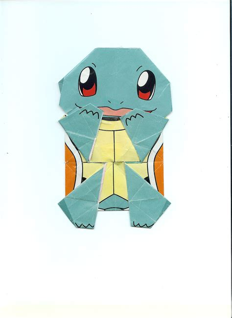Squirtle Origami - squirtle origami by randompenguins on deviantart