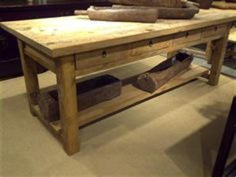 images  wood kitchen work tables  pinterest