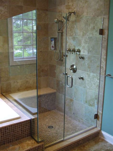 Used Shower Doors Door Frame Frameless Vs Framed Shower Doors