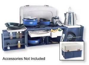 Camp Kitchen Organizer - chuck box fiberglass rv