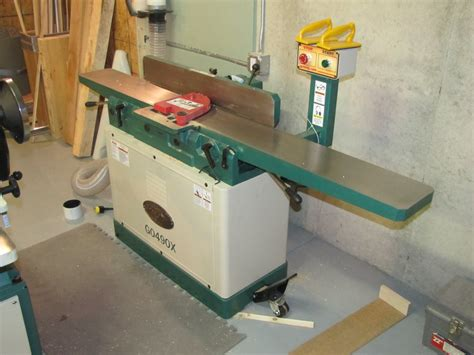 woodworking jointer reviews review g0490x jointer by tju lumberjocks