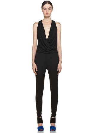 Limited Edition L 907 Halterneck Open Front Dress all in one black jumpsuit clothing