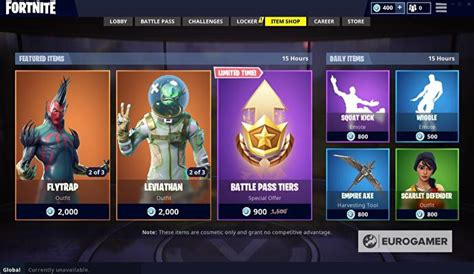 fortnite item shop tomorrow fortnite item shop august 15 update details eurogamer net