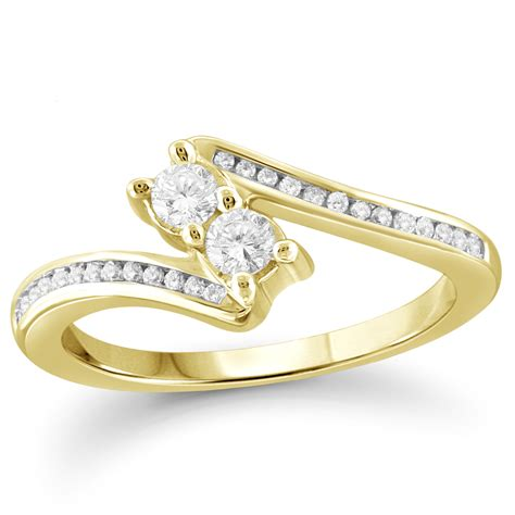 new rings images tradition 10k yellow gold 50cttw certified