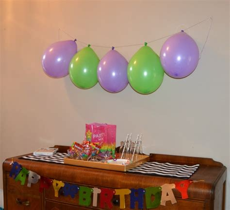 balloon decoration for birthday at home candy filled birthday balloon decoration ideas