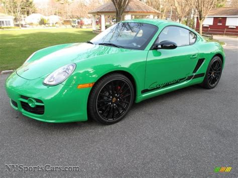 porsche cayman green 2008 porsche cayman s sport in green 783241