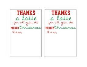 thanks a latte card template mandie starkey thanks a latte diy gift