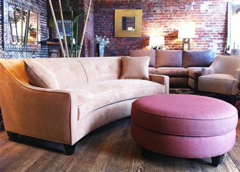 Curved Sectional Couches by 2018 Small Curved Sectional Sofas Sofa Ideas