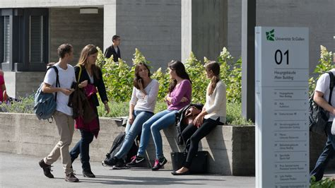 St Gallen Mba Fees by Of St Gallen Studying Admission And Enrolment