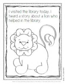 Library Lion Coloring Pages | library lion coloring sheet library themed coloring