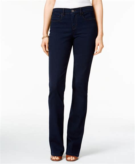 Style Co Denim T3010 1 style co tummy bootcut only at macy s in blue lyst