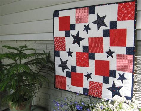 Patriotic Quilt Pattern by Patriotic Quilt Patterns 8 White And Blue Quilts