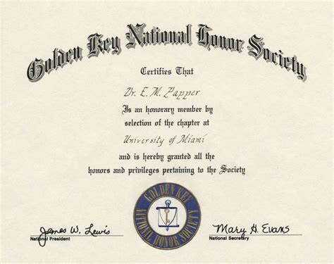 national honor society certificate template national honor society template certificate image
