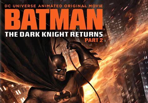 the dark knight returns b01mq0x8u0 batman the dark knight returns part 2 dvd planet store