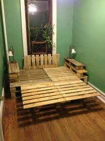 Diy Bed Frame Wood Pallets A Pallet Bed Construction And Diy Projects Forums