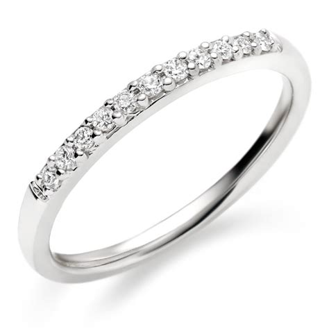 white gold diamond wedding bands  women wedding