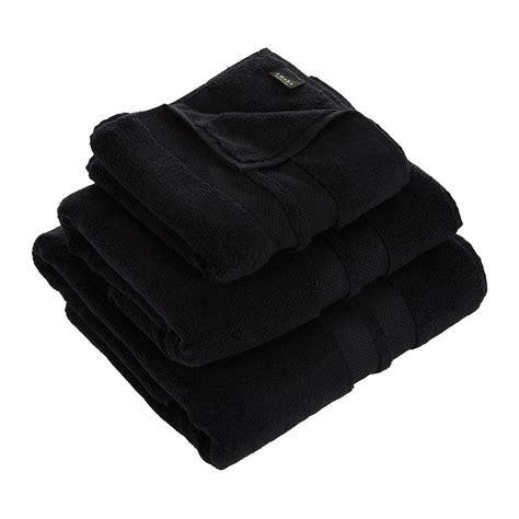 black bathroom towels buy amara super soft cotton towel black amara