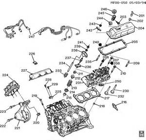 diagram of 2 4 liter pontiac engine