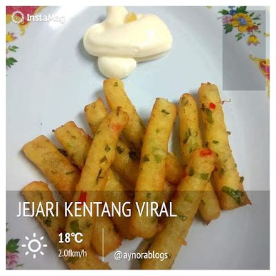 buat resepi jejari kentang viral   mudah