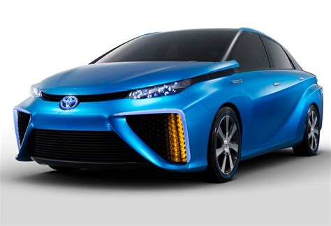 Tesla Hydrogen Car Toyota Hydrogen Powered Car To Compete Directly With Tesla