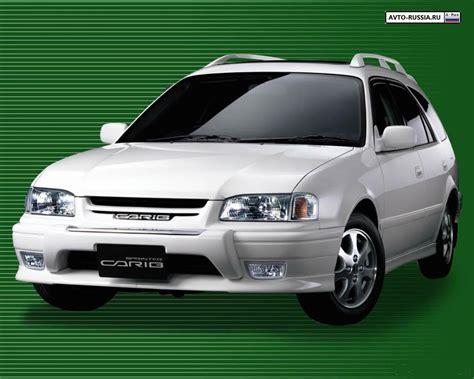 Toyota Carib Sprinter Toyota Sprinter Carib Photos And Comments Www Picautos