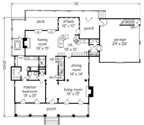 98 Best Images About House Plans On Pinterest House Cajun Cottage House Plans