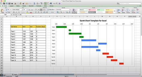 Gantt Chart Template Doliquid Office Gantt Chart Template