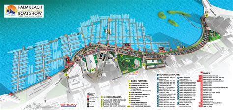 palm beach international boat show  worth avenue yachts