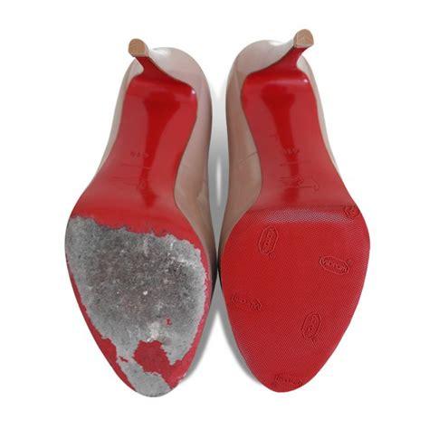 christian louboutin shoe repair total repair service