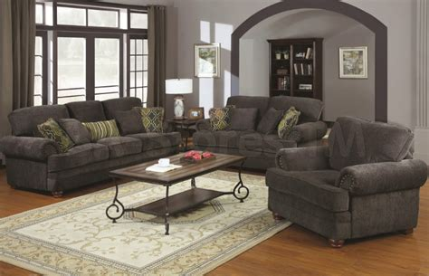 Traditional Living Room Furniture With Grey Sofa In Traditional Living Room Sofas
