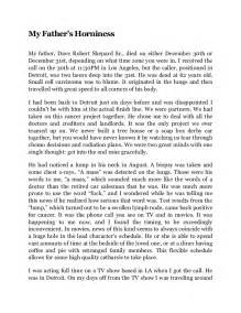 My Is My Essay by My S Horniness Essay By Dax Shepard