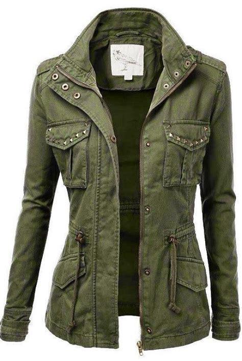 Jaket Coat Trendy jtomson freedom of fashion womens trendy camo cotton drawstring stitch fix
