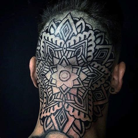 back of head tattoo 100 tattoos for masculine ink design ideas