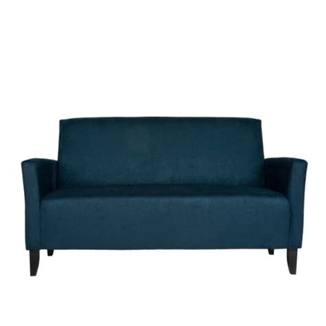 Blue Microfiber Sectional Sofa Black Friday Angelo Home Sutton Sofa Midnight Blue Microfiber Sale Low Price