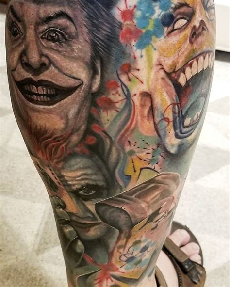 watercolor tattoo joker 34 best my actual tattoos images on irezumi
