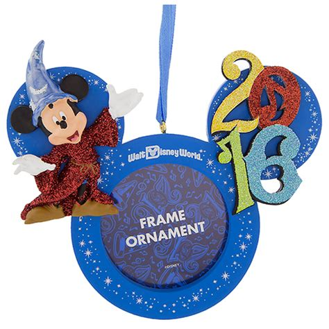 Selimut Topi Mickey Mothers Choice your wdw store disney frame ornament 2016 sorcerer mickey mouse
