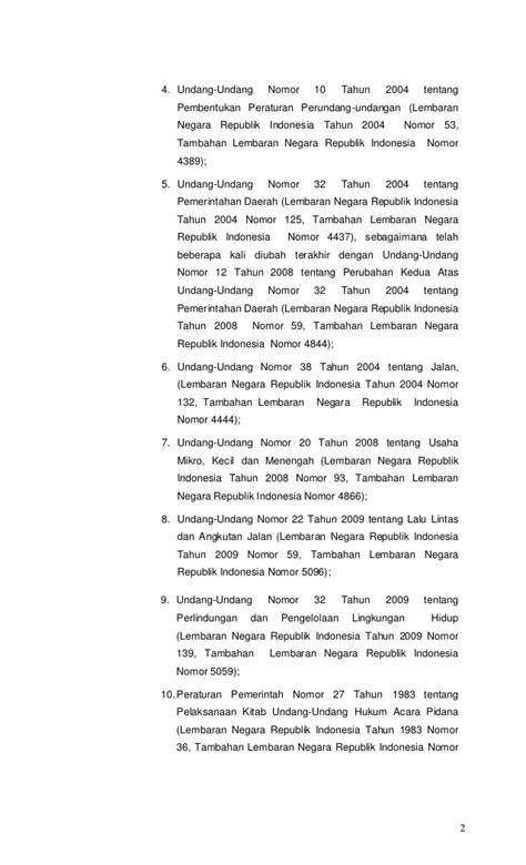 Uuri 12 Thn 2011 Pembentukan Peraturan Perundang Undangan peraturan daerah kabupaten banyumas nomor 4 tahun 2011 tentang penat