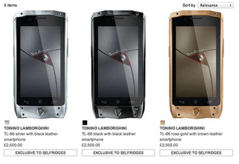 Lamborghini Tonino Rosegold Chain Black tonino lamborghini expands with 5k antares smartphone