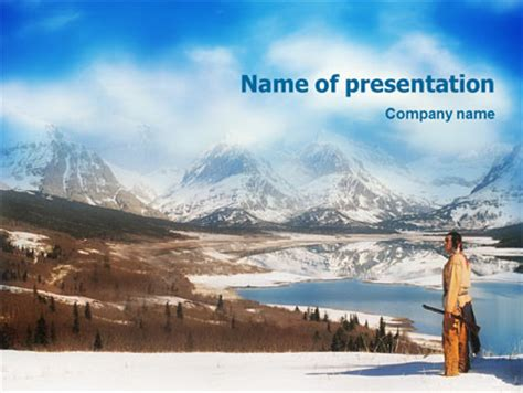 Native American Presentation Template For Powerpoint And Keynote Ppt Star American Indian Powerpoint Template