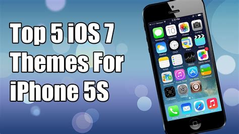 best themes for iphone 5s top 5 ios 7 themes for iphone 5s 5 4s 4 ipod touch ipad