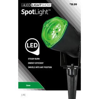 lightshow led christmas spotlight green