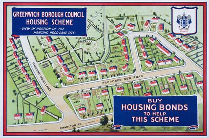 council house buying scheme greenwich borough council housing scheme buy housing bonds to help this scheme 1922