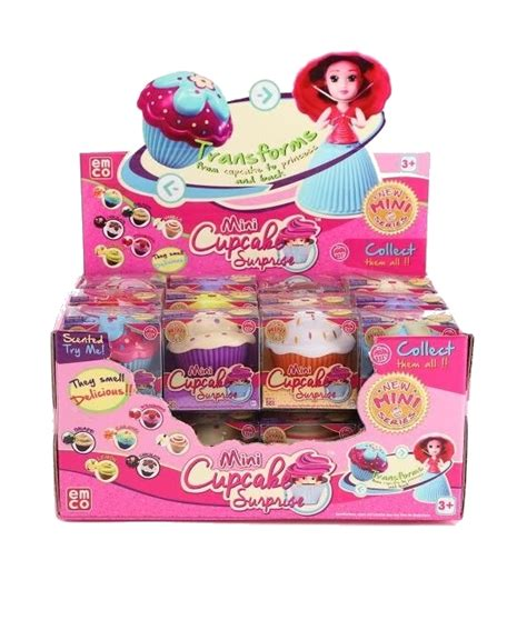 cupcake mini scented doll at mighty ape nz