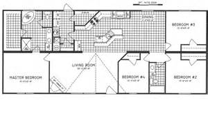 4 Bedroom Mobile Home Floor Plans by Mobile Home Floor Plans 4 Bedroom Mobile Homes Ideas