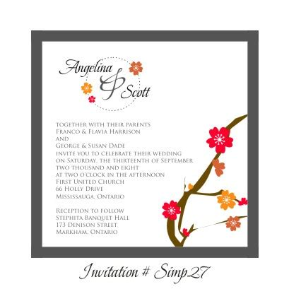 stephita wedding invitations wedding invitation simp27 beau rivage trajan pro