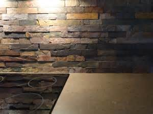 Slate Kitchen Backsplash Slate Countertops And Back Splash Slate Countertops Slate Backsplash Pictures In