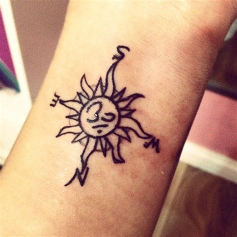 sun and om tattoo designs om sun compass don t what s in the middle