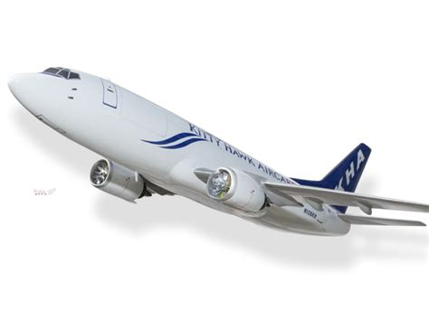 boeing 737 300 hawk air cargo model civilian 199 5 planearts and