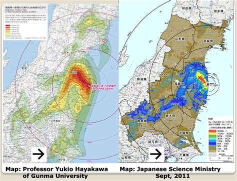 fukushima radiation map steven the implications of the contamination of japan with radioactive cesium